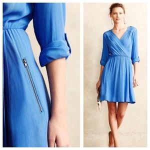 Anthropologie Maeve Faux Wrap Dress